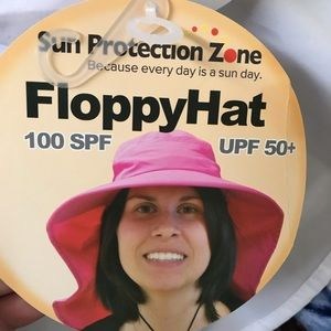 Accessories - Floppy microfiber sun hat with 100 SPF